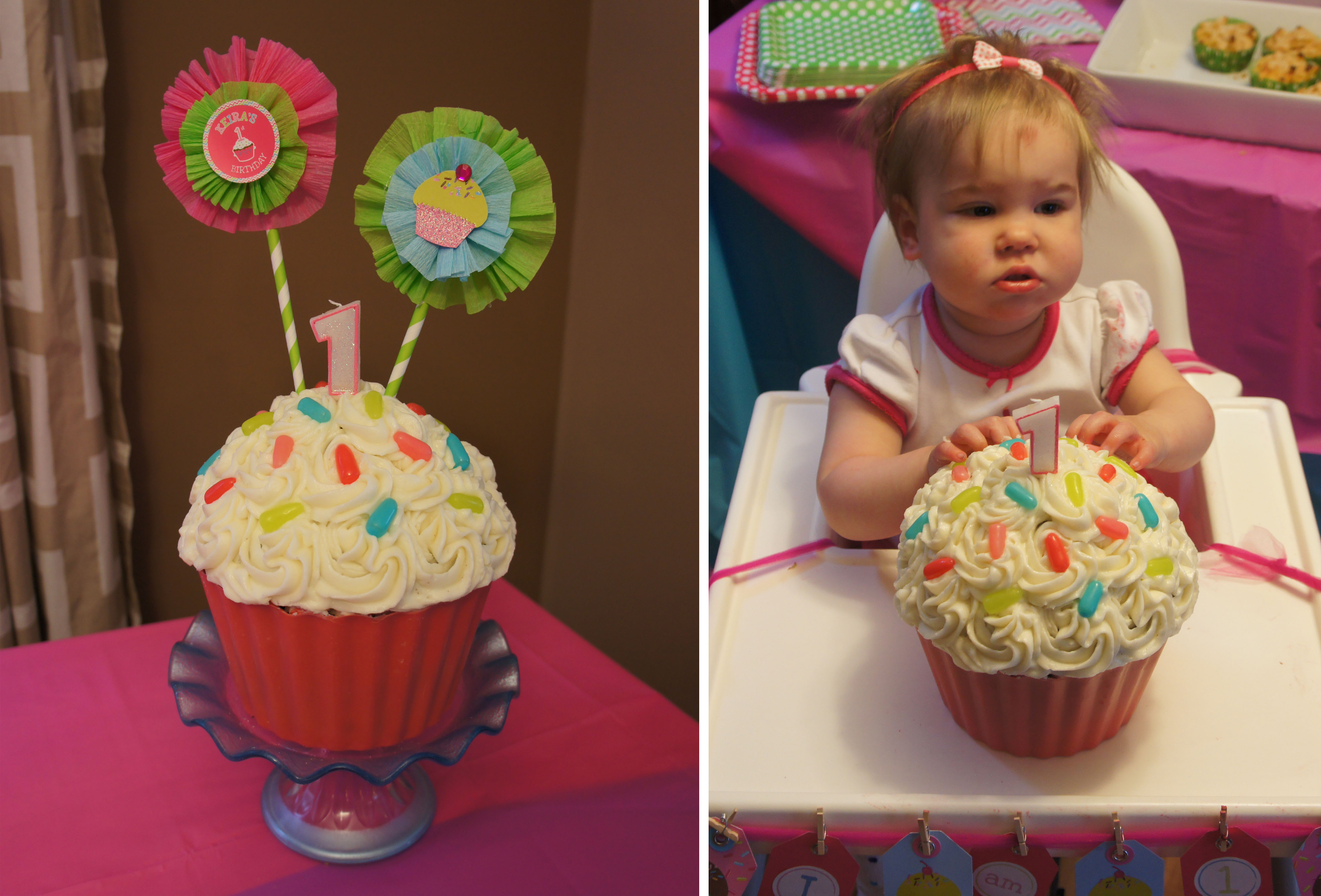 Terrific Giant Cupcake Cake Funny Birthday Cards Online Necthendildamsfinfo