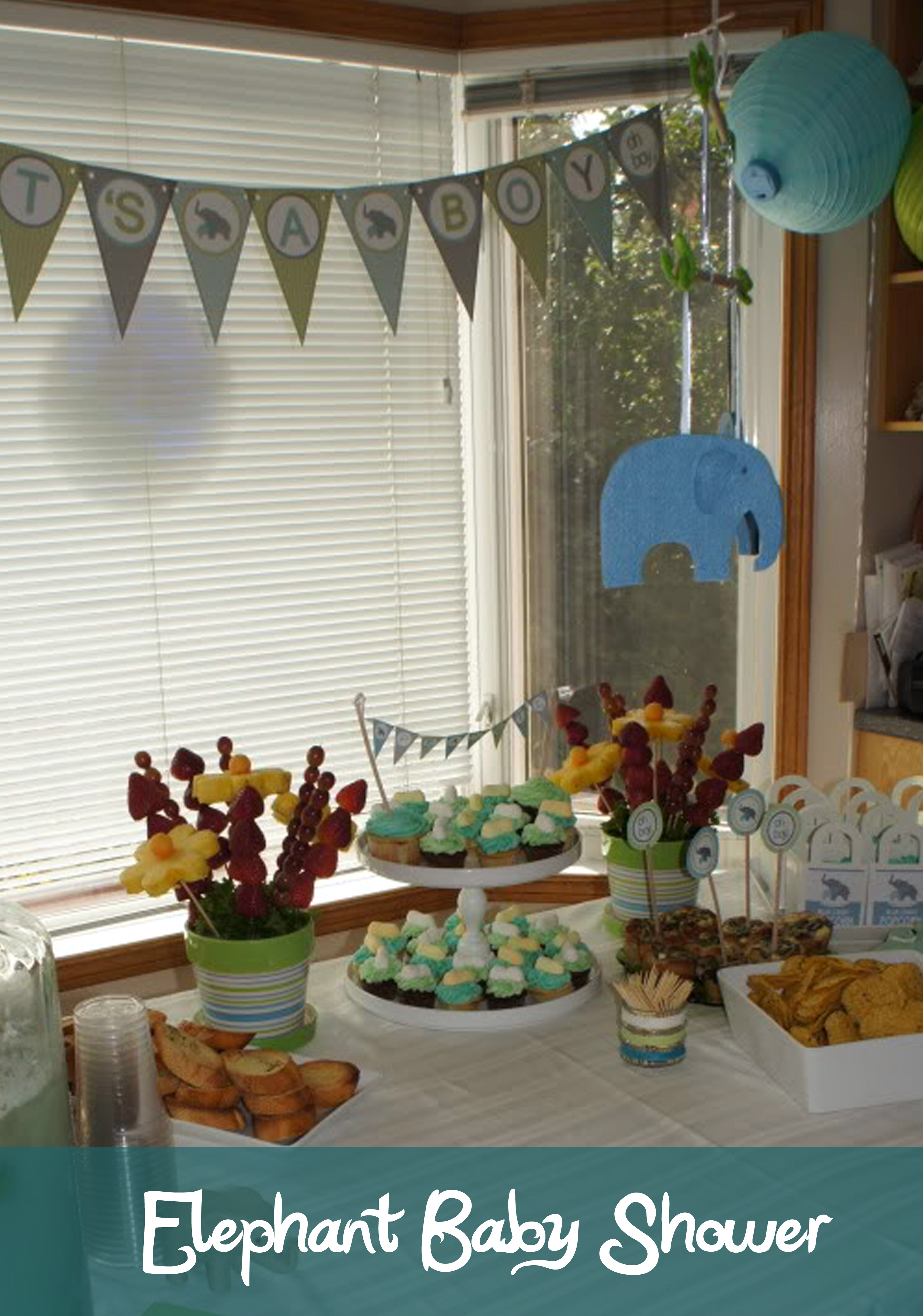 An Elephant Baby Shower