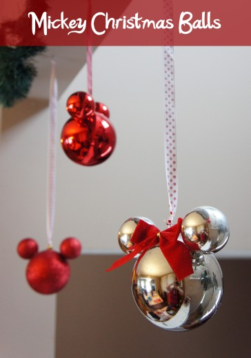 it isnt much of a secret that i love all things mickey i first saw these mickey christmas balls in the christmas store at downtown disney on our honeymoon - Mickey Christmas Decorations