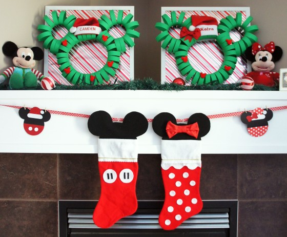 And The Mickey And Minnie Stockings Were Hung By The
