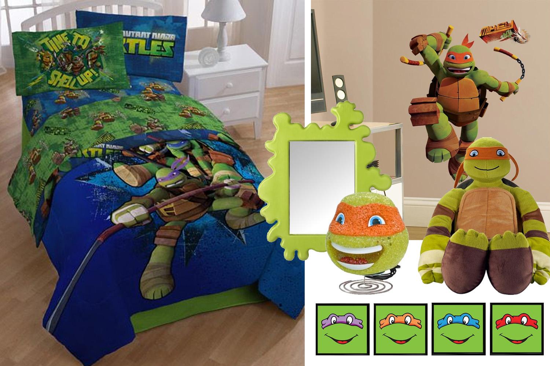 Ninja Turtle Bedroom | Dolled Up Design