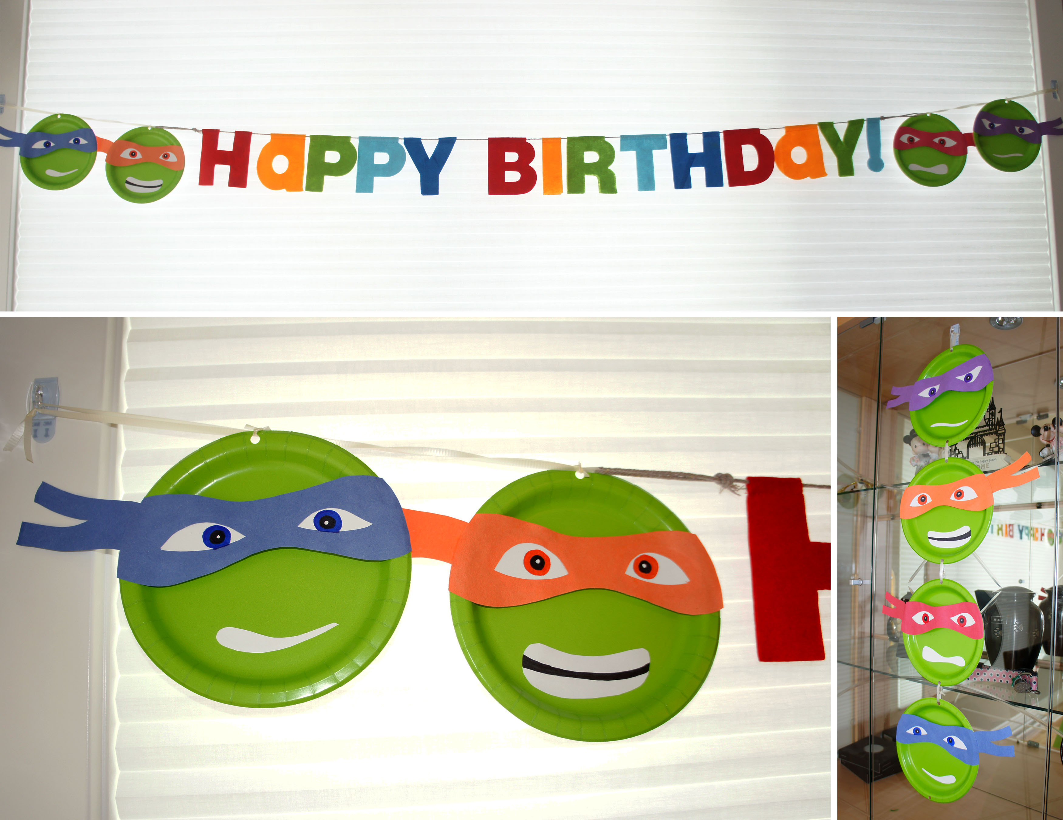 create your own birthday banner
