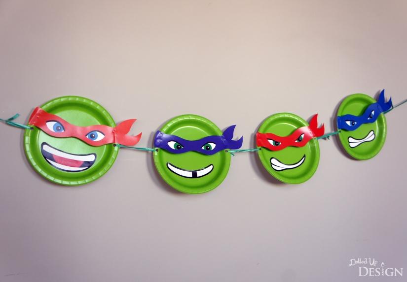 Free Ninja Turtle Printable Banner