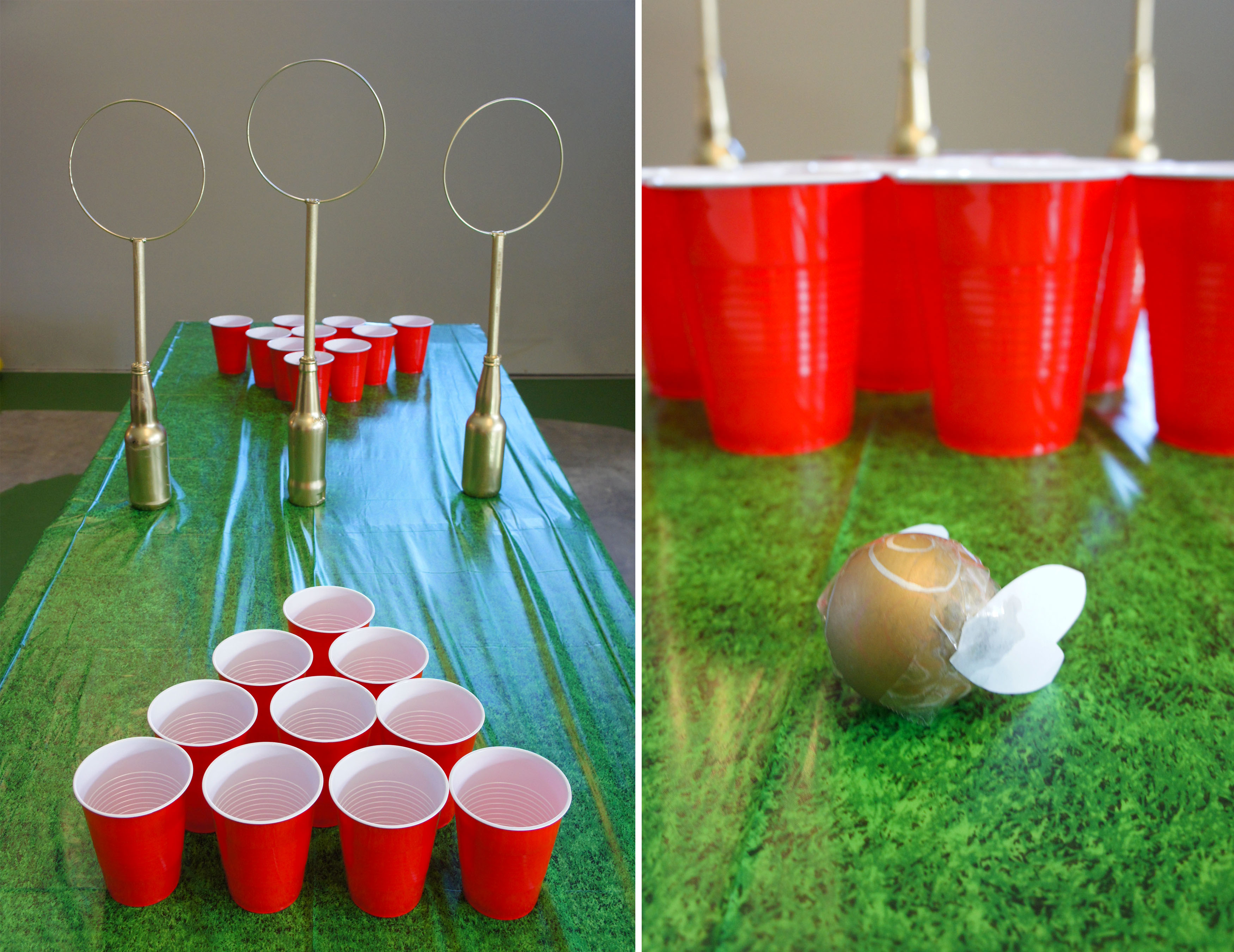 Quidditch pong for Table quidditch