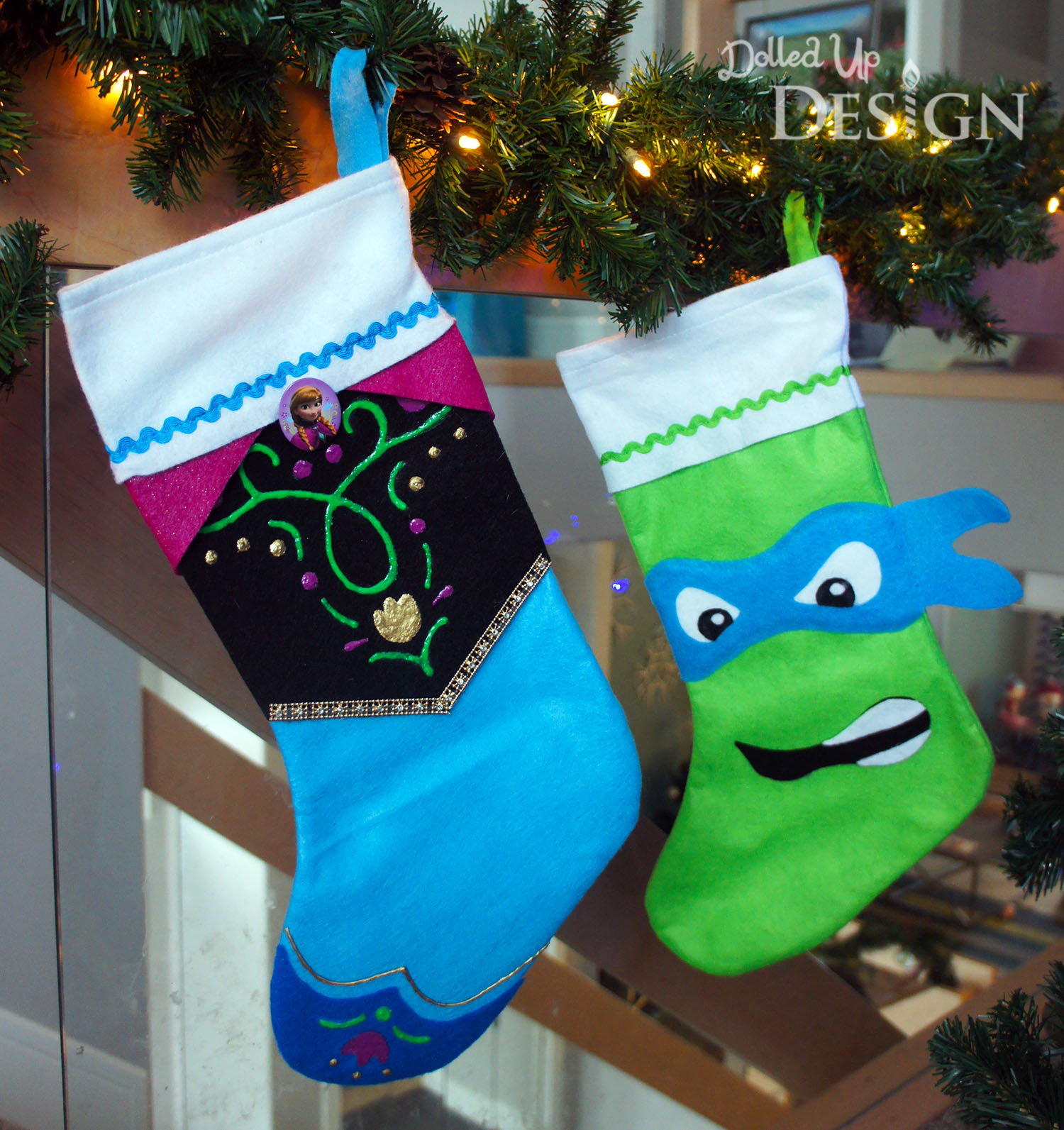Transform a $1 Felt Stocking With These Fun Character Options