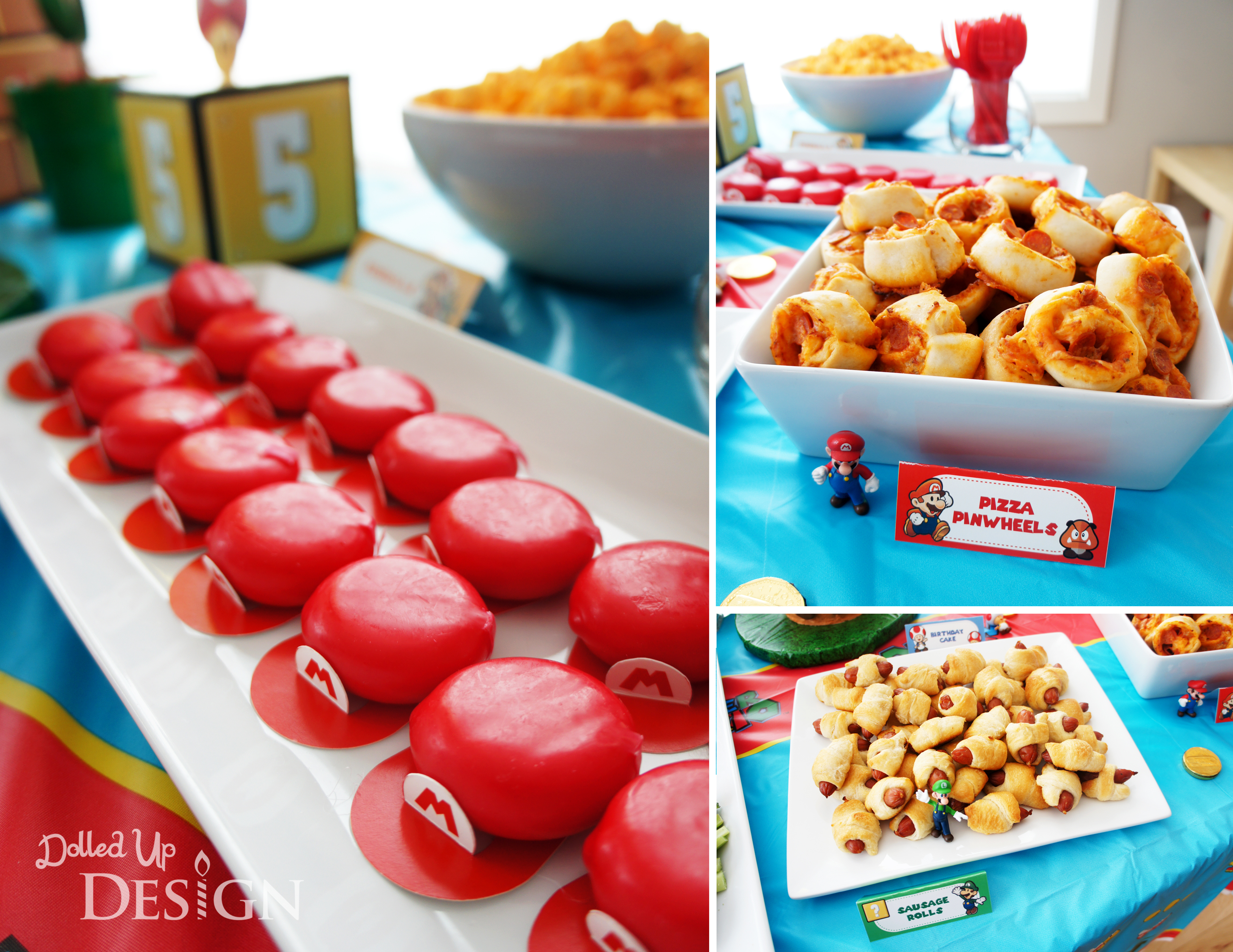 Super Mario Food Ideas