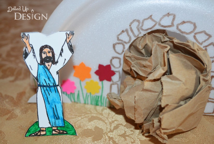 The Story Of Holy Week Kids Craft