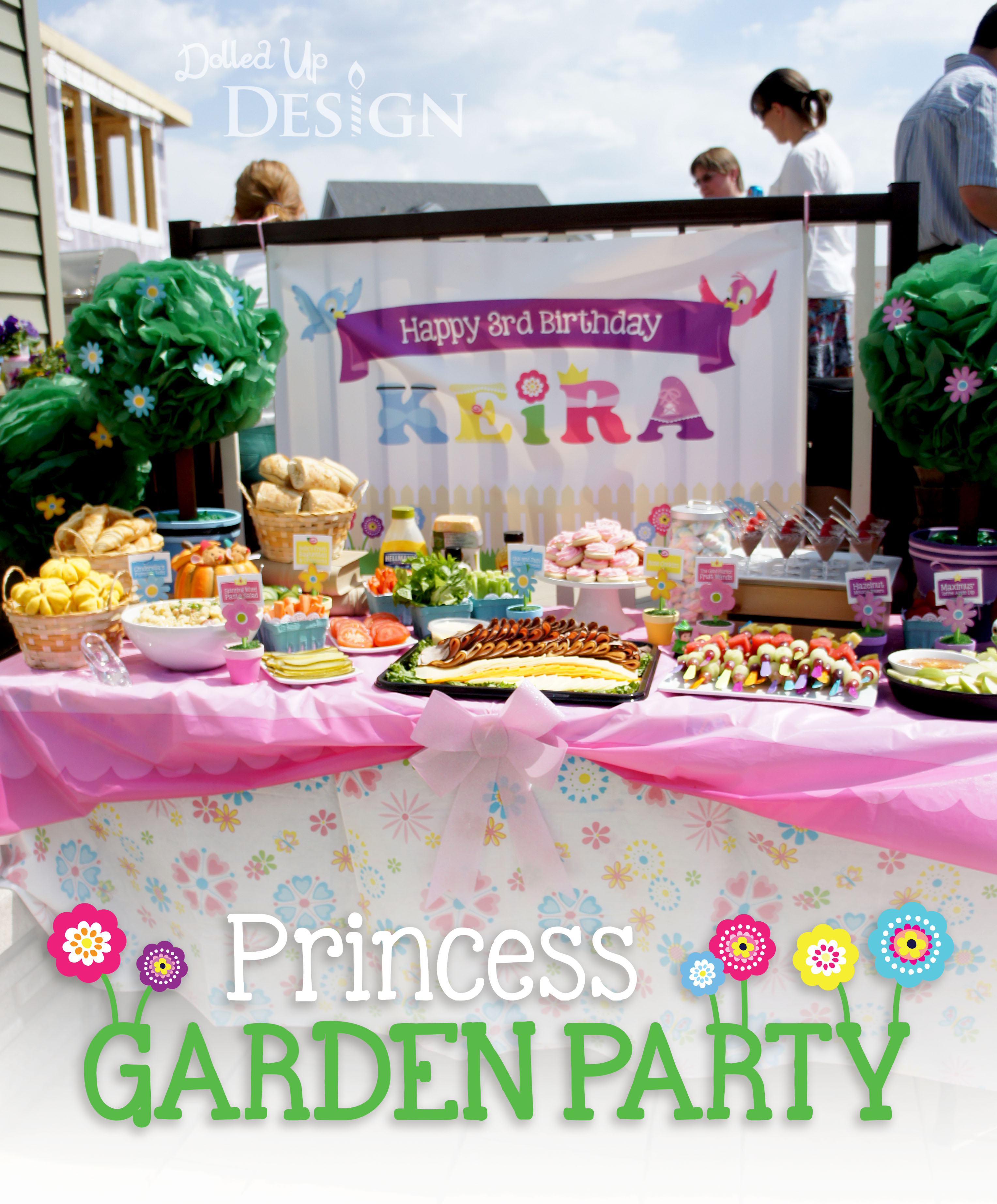 I Am So Excited To Share With You My Daughters Princess Garden Party Themed 3rd Birthday For The Second Year In A Row We Were Very Fortunate