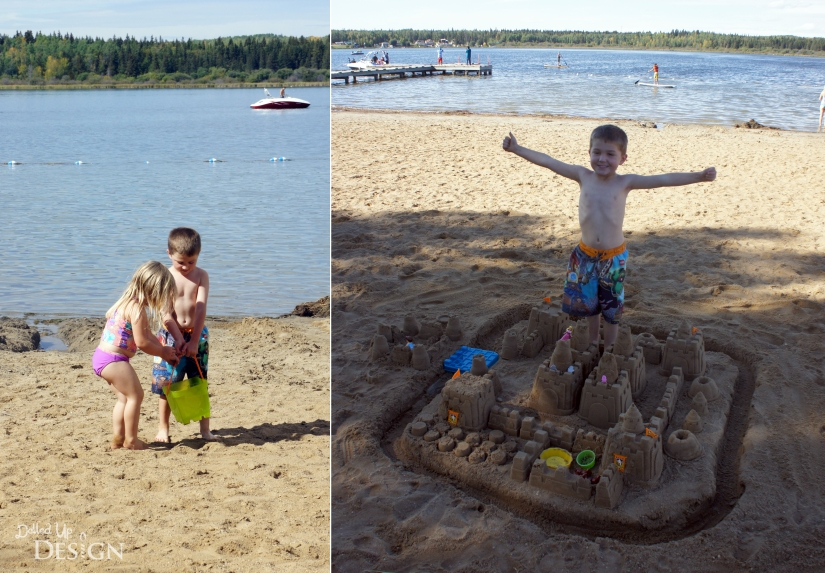 How to Ensure Happy Little Campers Sand Castle Fun