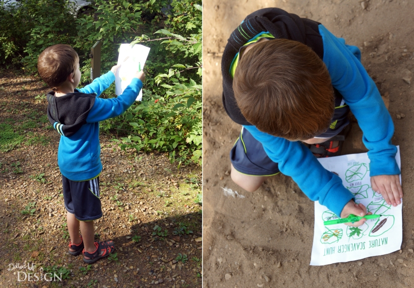 How to Ensure Happy Little Campers Nature Scavenger Hunt