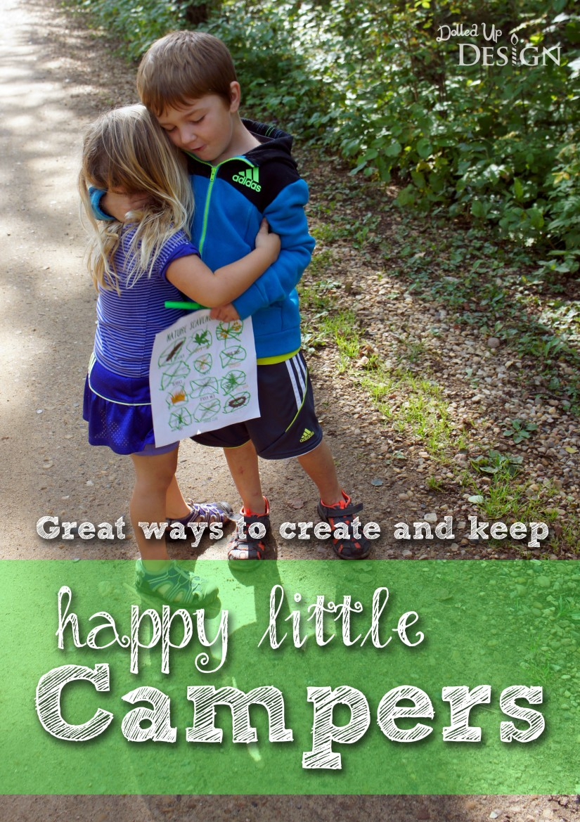 Great ways to create and keep happy little Campers_DolledUpDesign