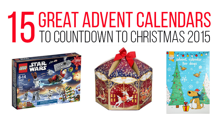 15 Great Advent Calendars to Coundown to Christmas 2015