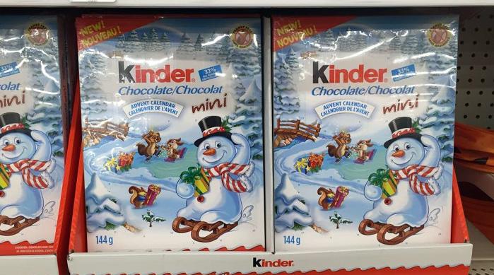 Kinder Surprise Advent Calendar