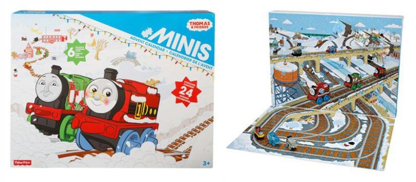 Thomas and Friends Minis Advent Calendar