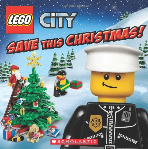Lego City Save This Christmas! Book