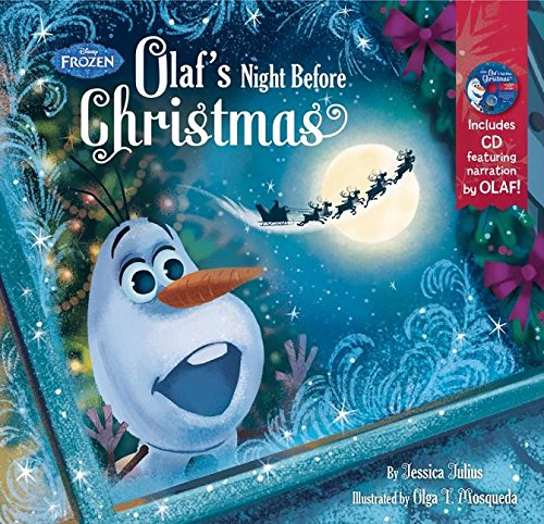 Olaf's Night Before Christmas Book