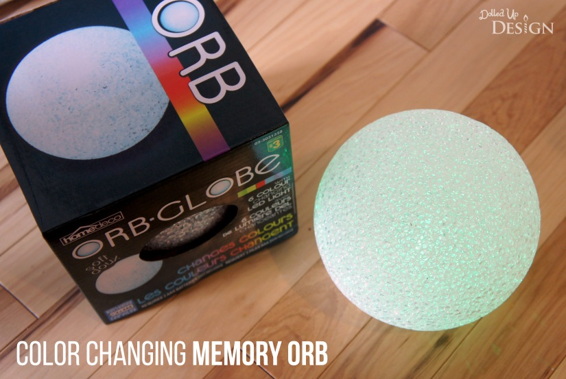 Inside Out Costume_Color Changing Memory Orb