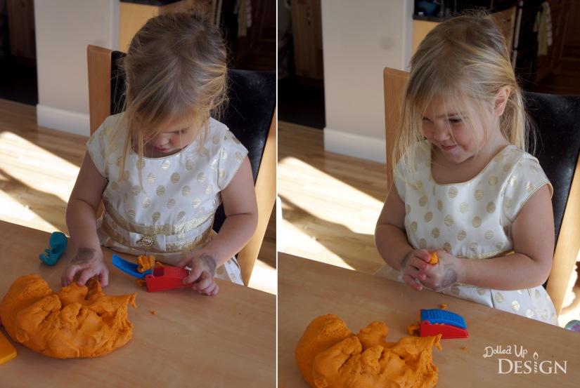 Fun with Homemade Pumpkin Playdough