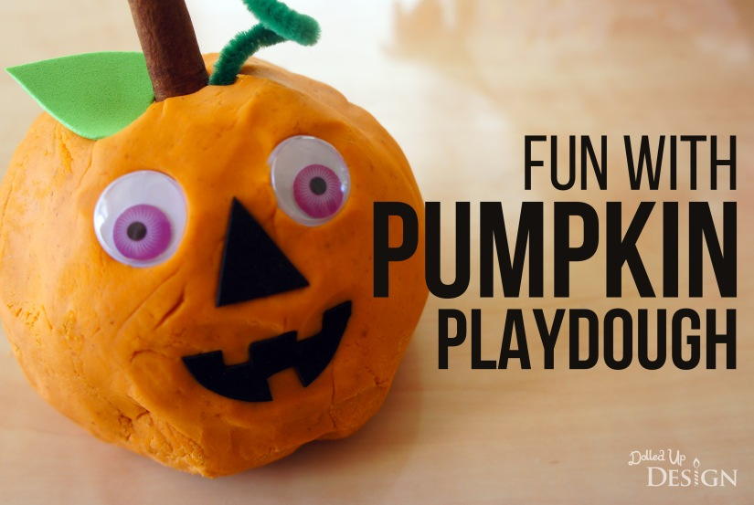 Fun with Homemade Pumpkin Playdough