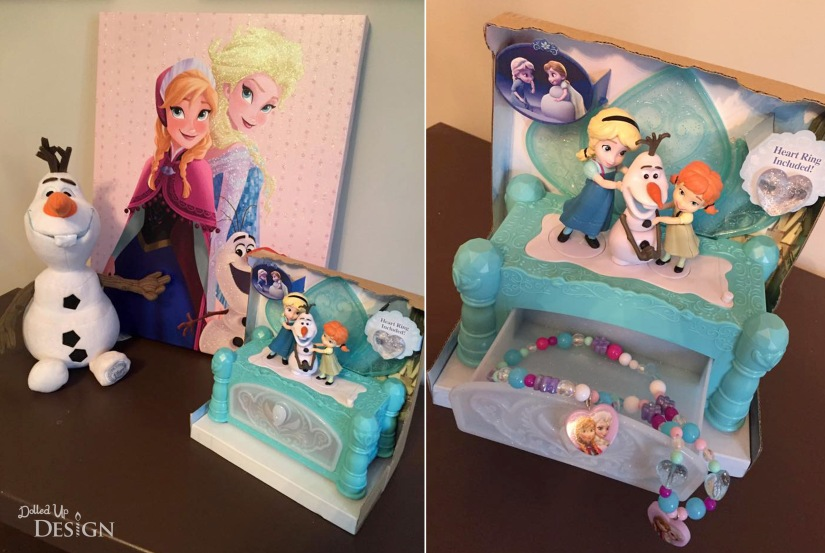 """Do You Want to Build a Snowman"" Jewelry Box"