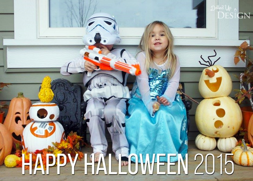 Happy Halloween 2015 - Star Wars and Frozen
