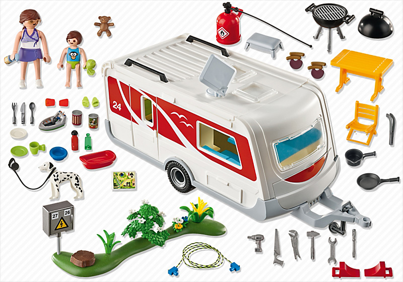 Palymobil Caravan Set Pieces