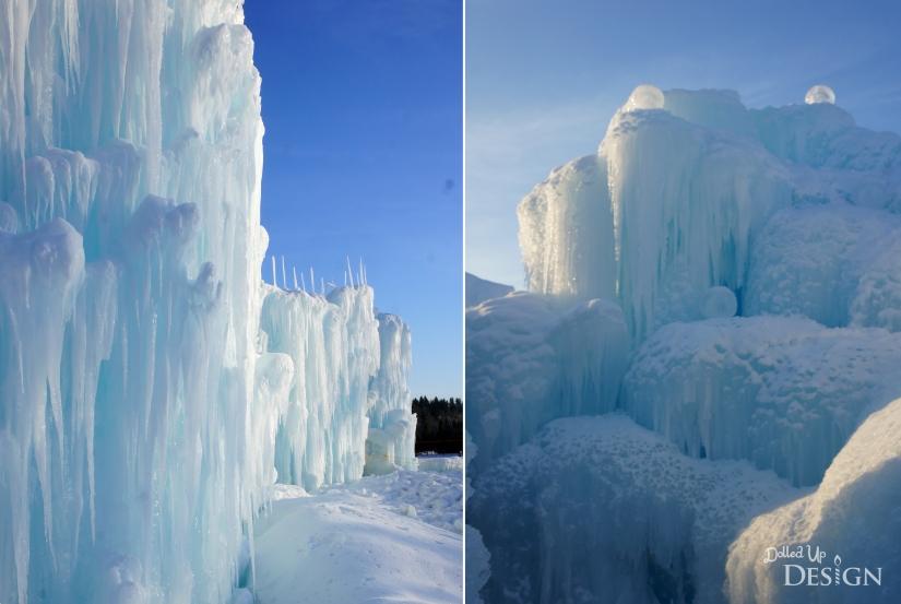 Exploring Ice Castle's Edmonton, Alberta