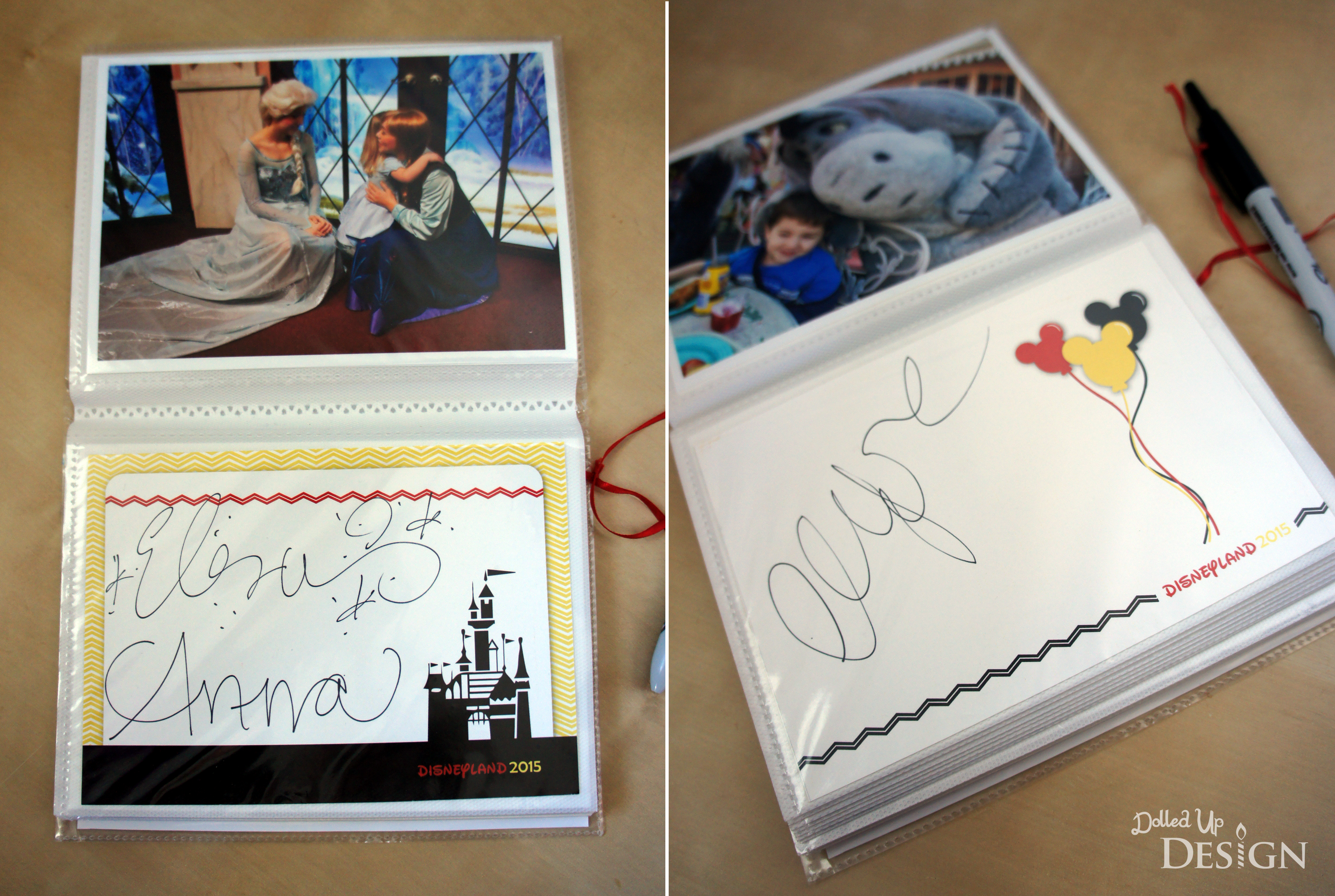 This is a graphic of Printable Disney Autograph Book regarding rare character disney