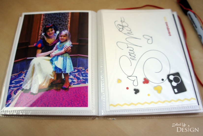DIY DIsney Autograph Book_DolledUpDesign