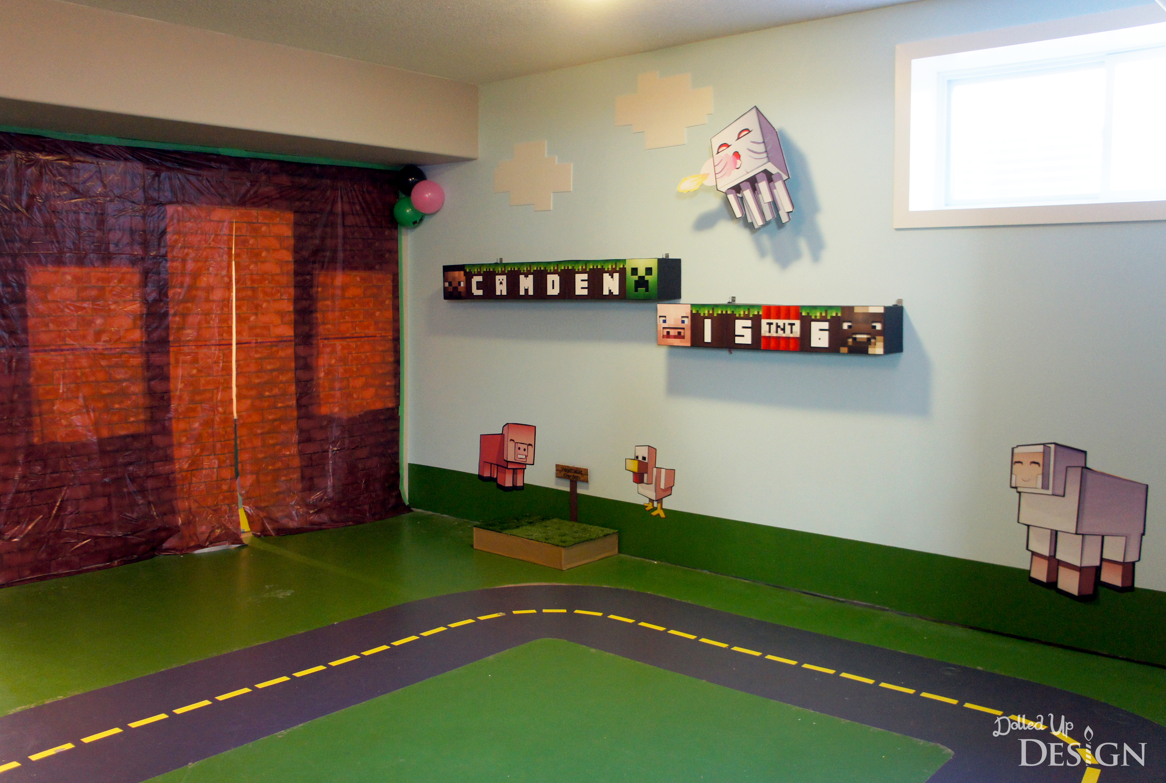 From Mario To Minecraft Basement Makeover