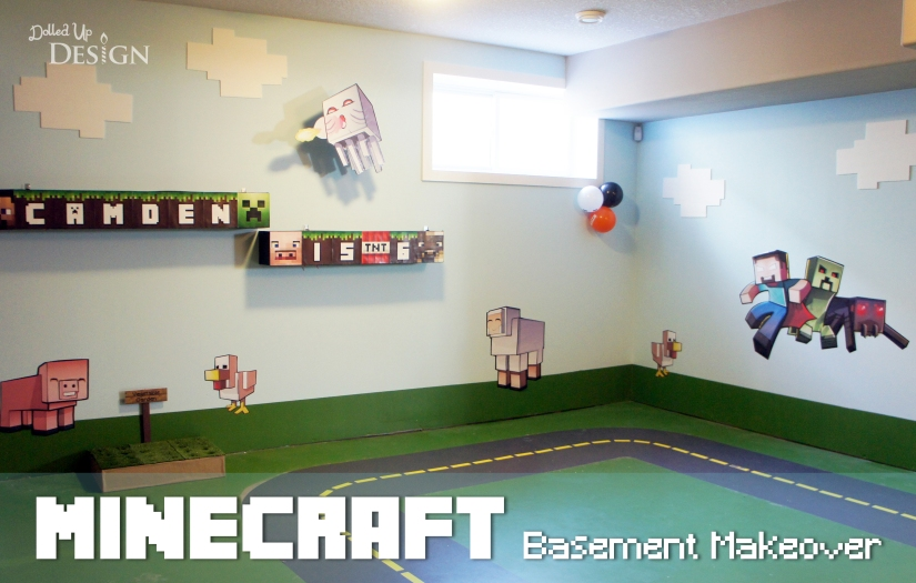 Minecraft Basement Makeover
