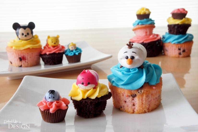 Jakks Pacific Tsum Tsum's Series 1_Cupcake Toppers