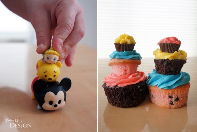 Jakks Pacific Tsum Tsum's Series 1_Stacked Cupcakes