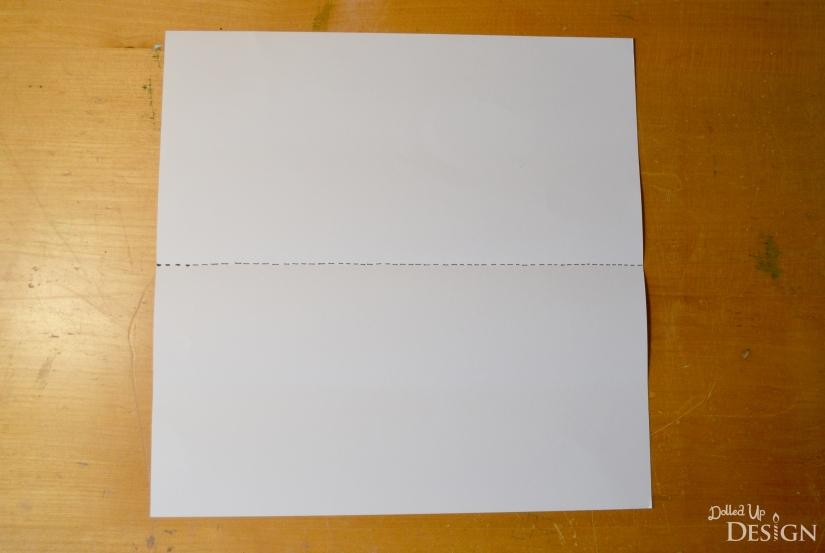 3D Paper Easter Basket from scrapbook paper