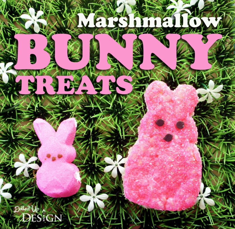 Marshmallow Bunny Rice Krispie Treats