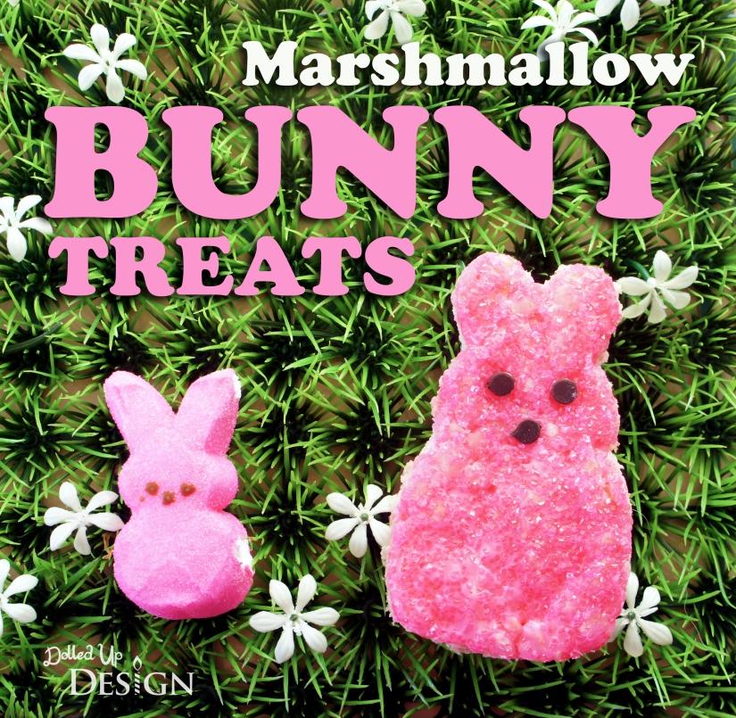Marshmallow Bunny Rice Krispie Treats