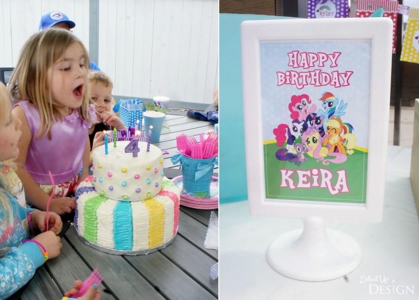 My Little Pony Party Cake