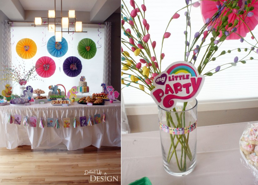 My Little Pony Party - Decorations