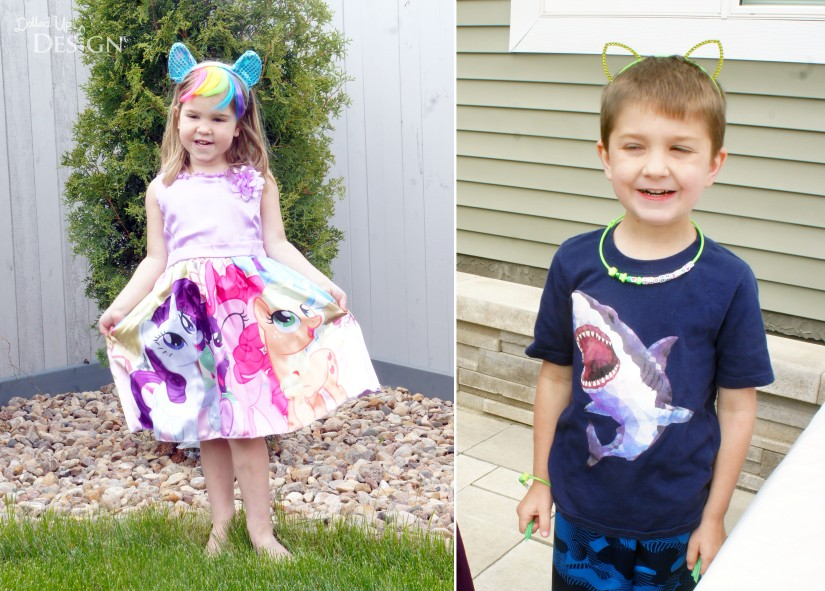 My Little Pony Party Dress and Pony Ears