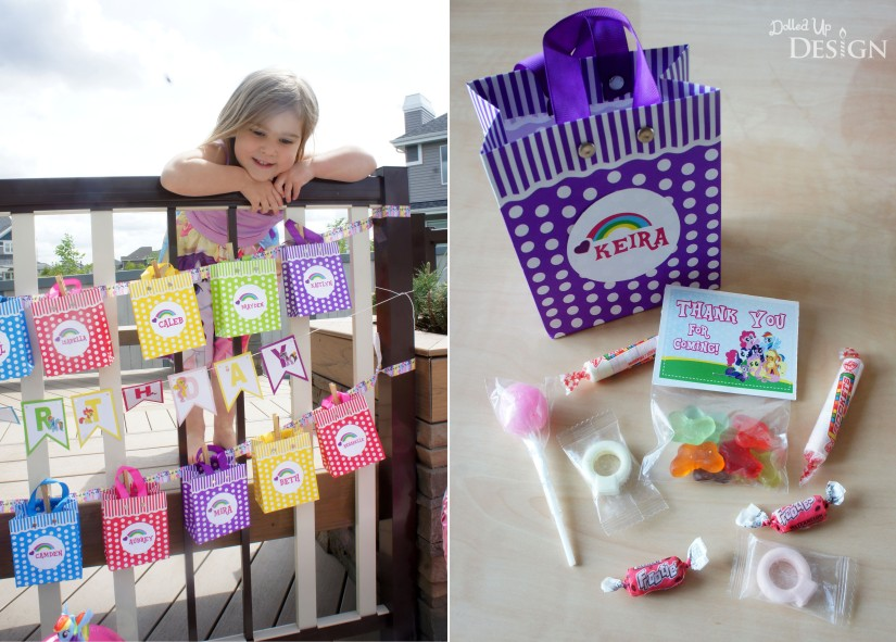 My Little Pony Party Treat Bags