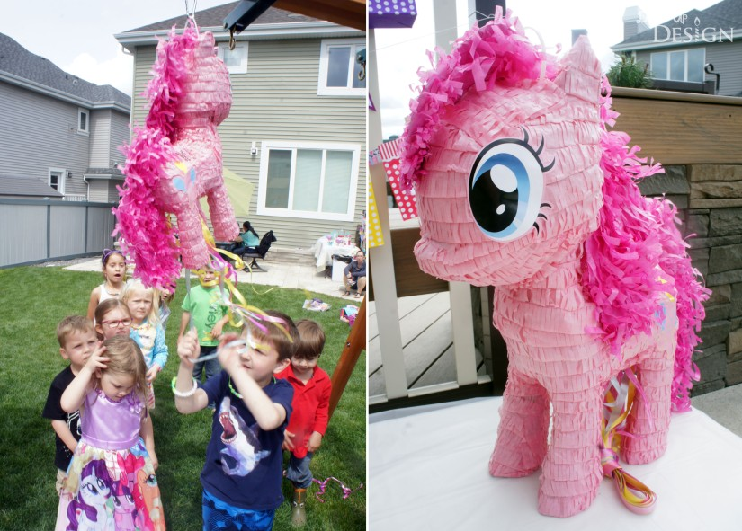 Keiras my little pony 4th birthday party my little pony party pinkie pie pinata solutioingenieria Gallery