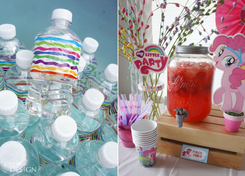 My Little Pony Party Drinks - Pinkie Punch