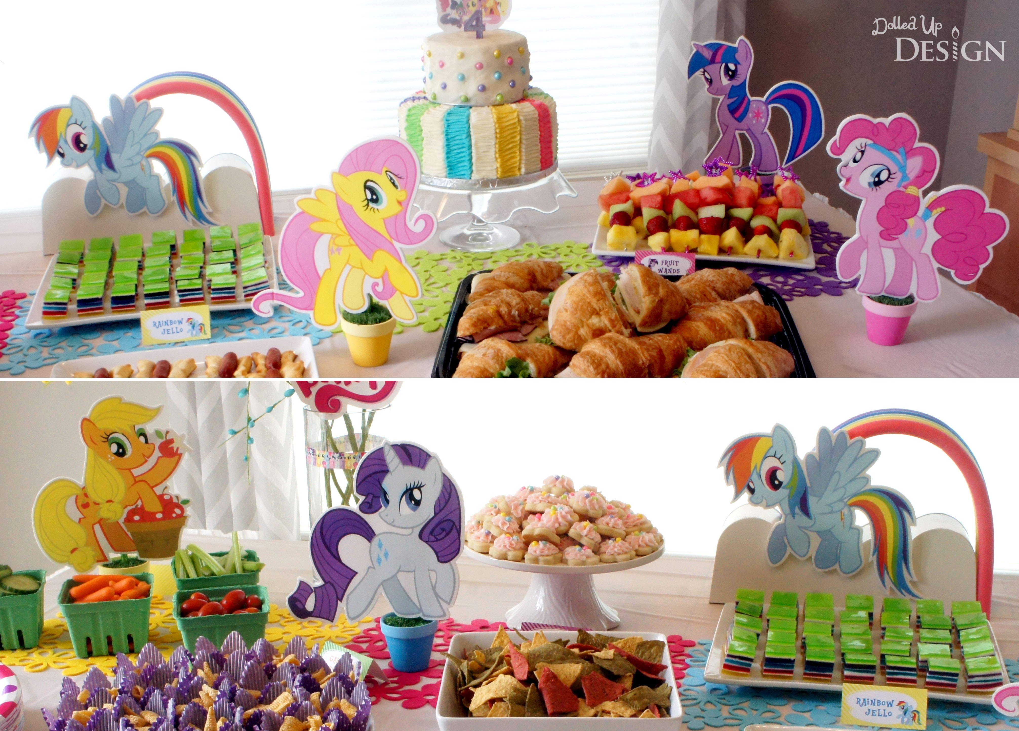 Keiras My Little Pony 4th Birthday Party