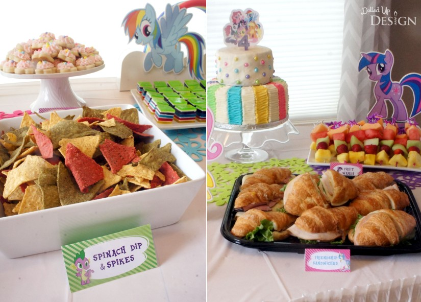 My Little Pony Party Food