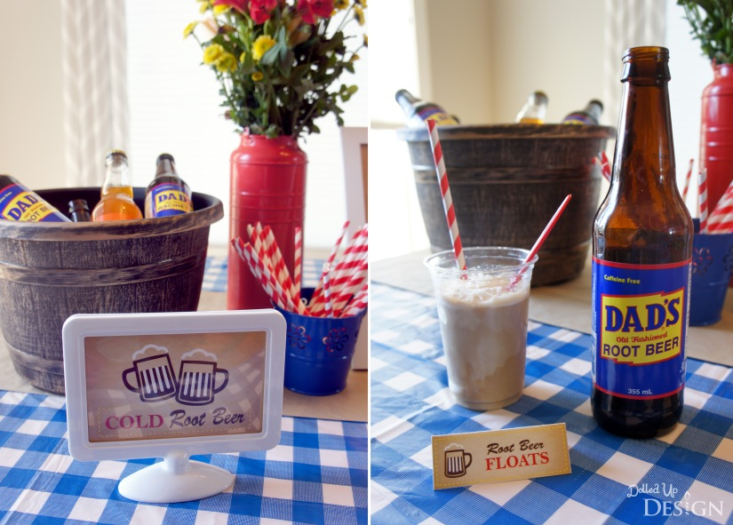 Dad's Root Beer Party_Ice Cream Floats