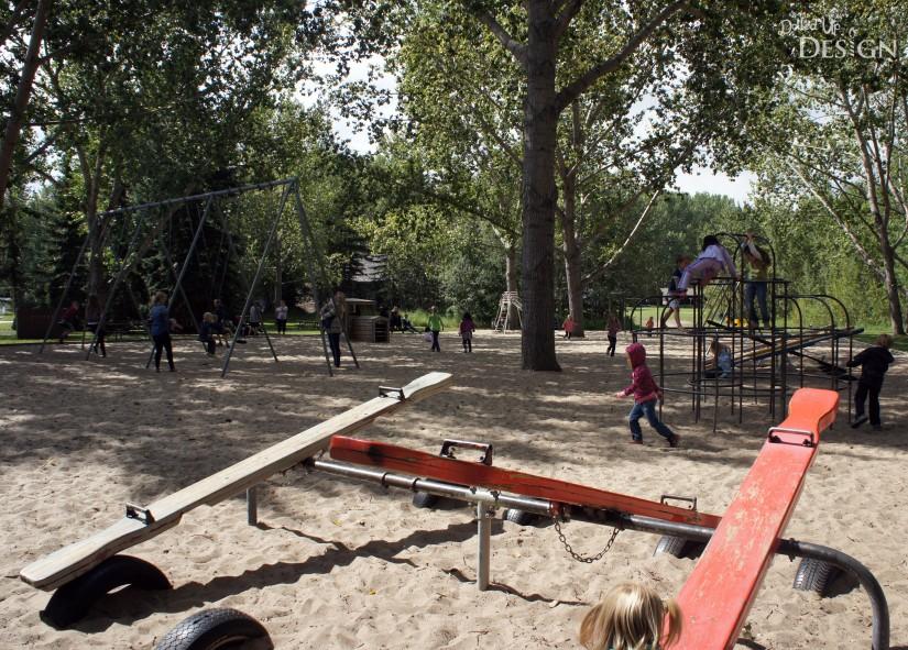 Fort Edmonton Park - Playground
