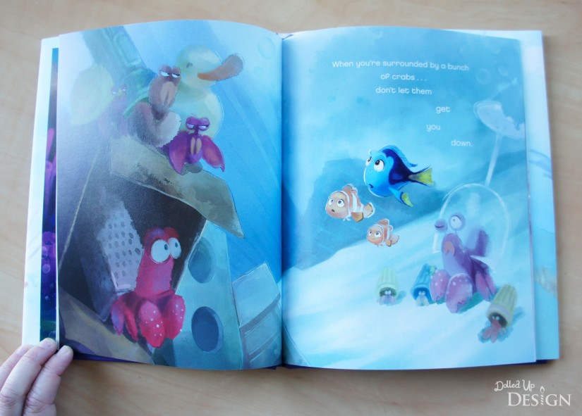 Three Little Words_Finding Dory Inspirational Book