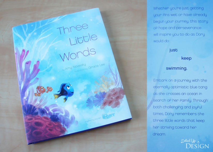 Three Little Words_Finding Dory Inspirational Book. Makes a great graduation gift!