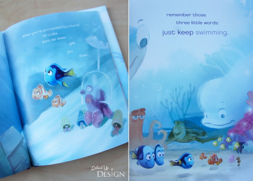 Three Little Words_Finding Dory Inspirational Book.