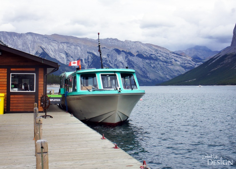 Our Banff Adventure_Day 3 Banff Lake Minnewanka Cruise Boat